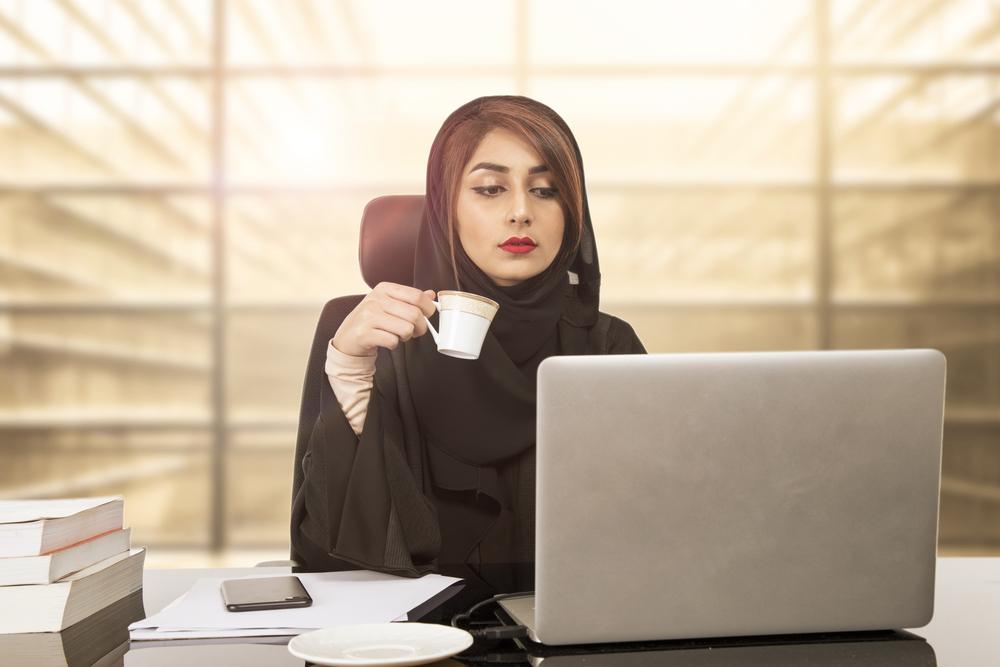 Бизнесвумен в Бахрейне