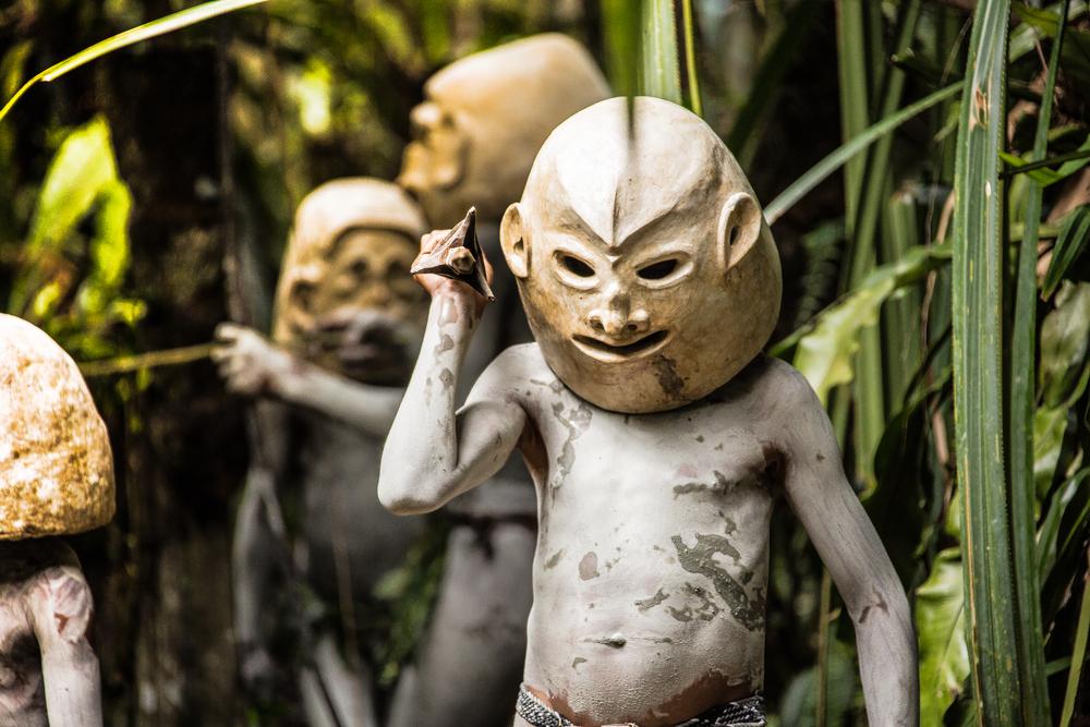 Асаро мудмен – папуасский народ из города Горока