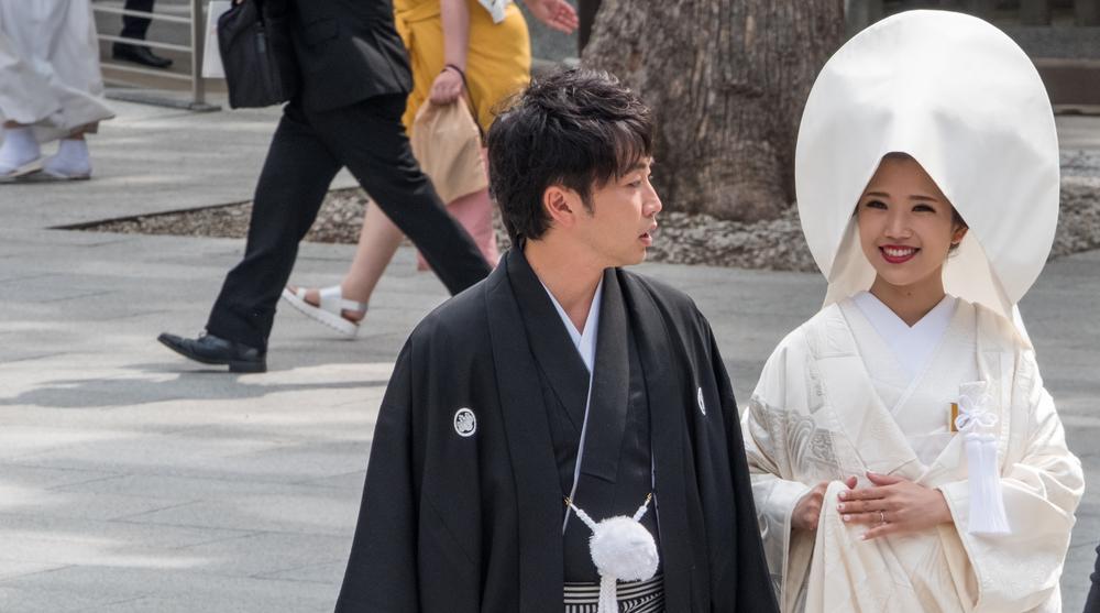 Традиционная японская свадьба