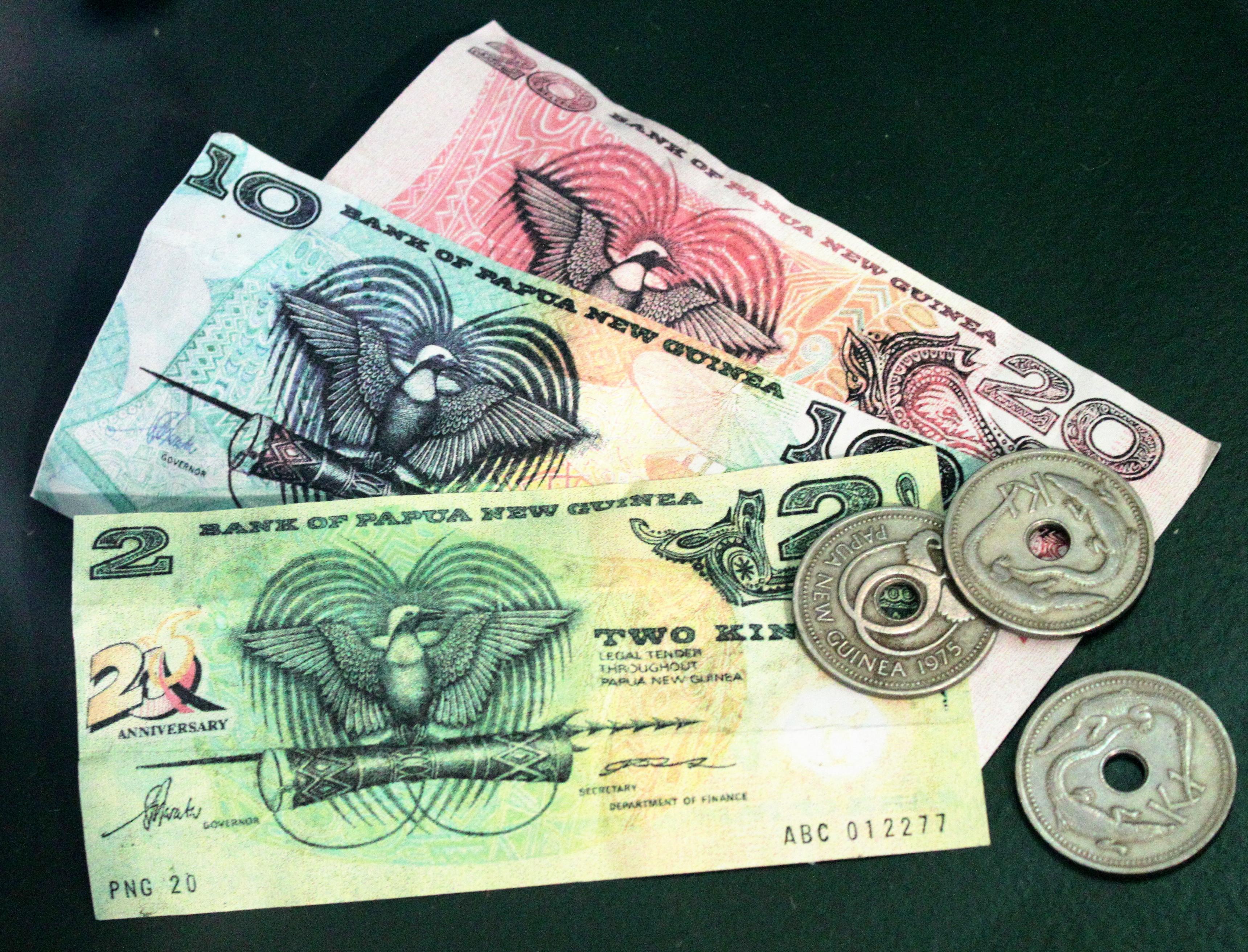 Кина – национальная валюта Новой Гвинеи
