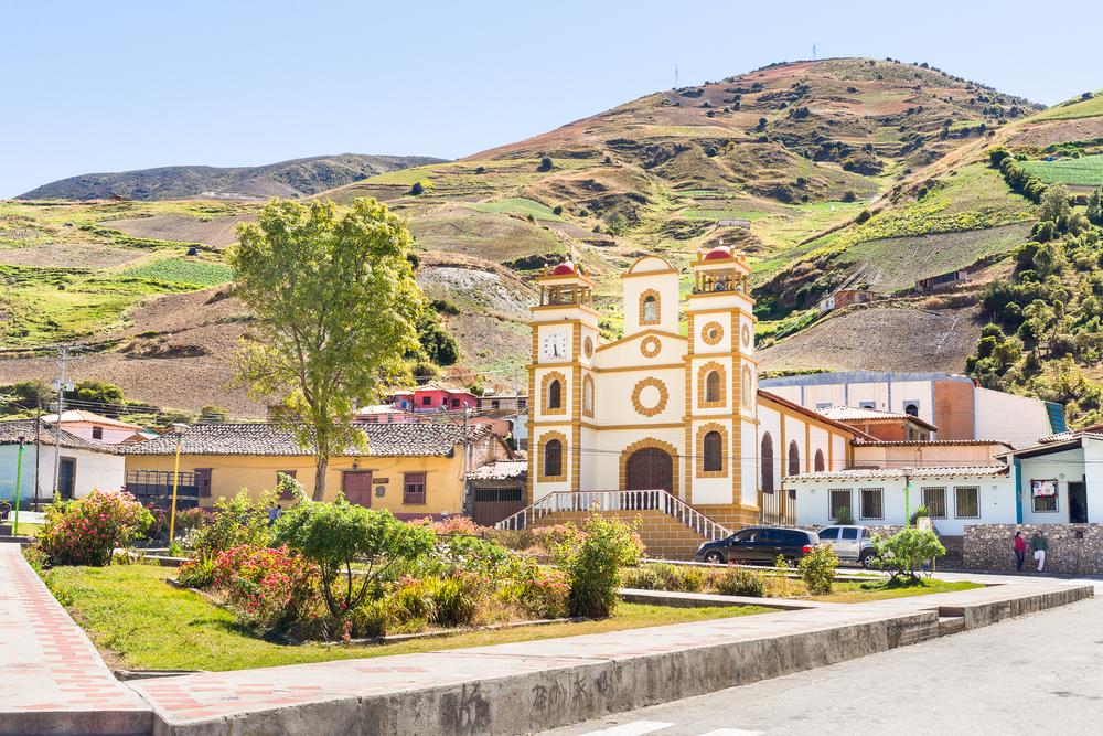 Небольшая церковь в Венесуэле
