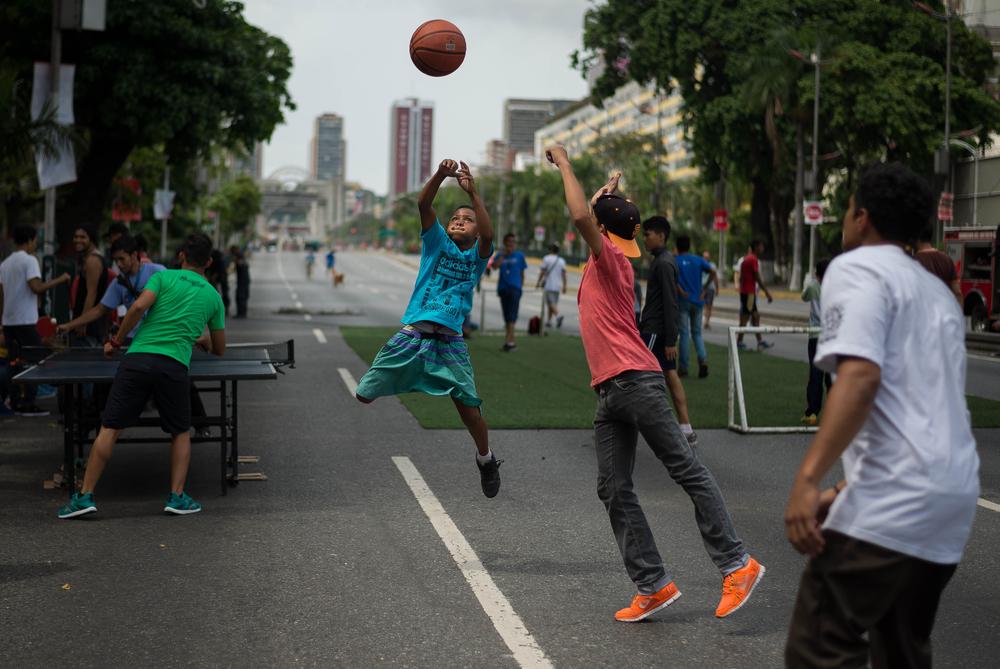 Авеню Боливар в Каракасе