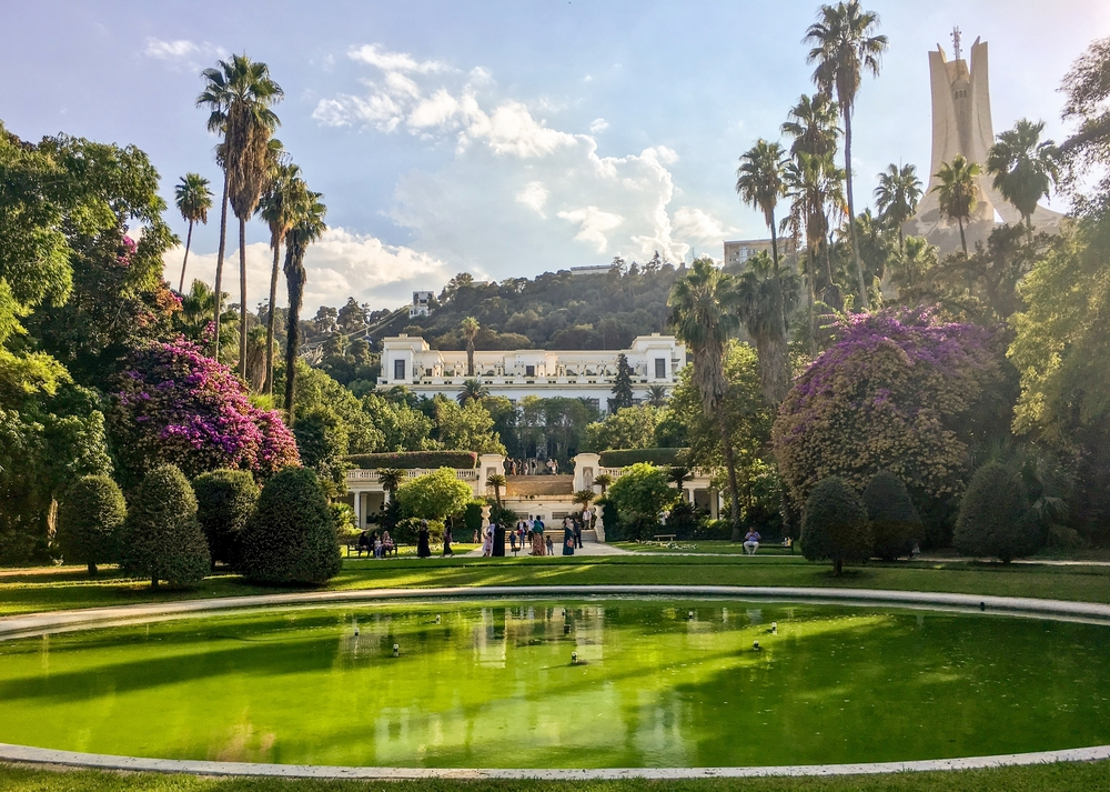 Сад Эссе дю Амма в Алжире