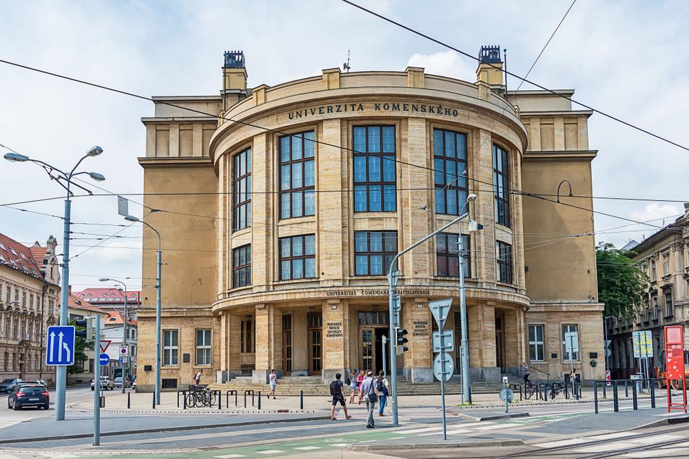 Университет имени Коменского в Братиславе