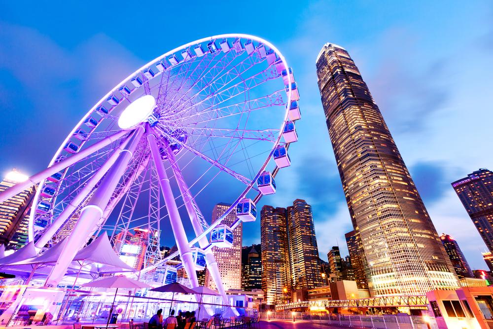 Колесо обозрения Гонконга