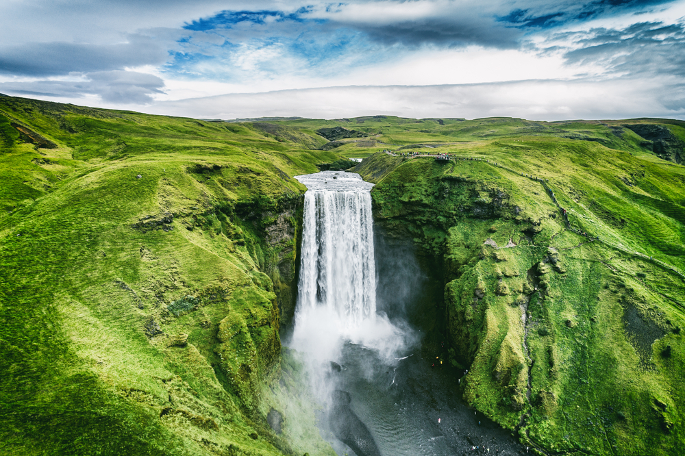 Водопад Скогафосс