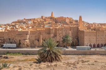 Древний город Бунура в Алжире