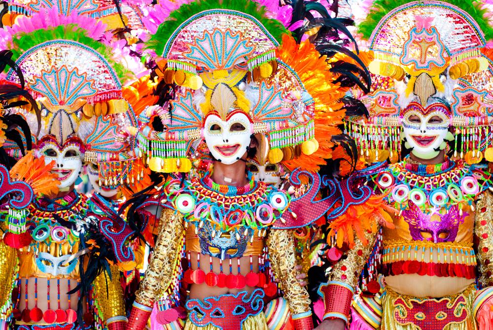 Фестиваль улыбающихся масок