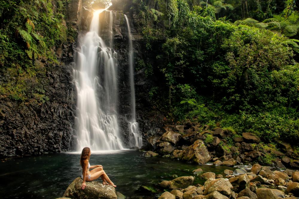 Водопады Таворо на Фиджи