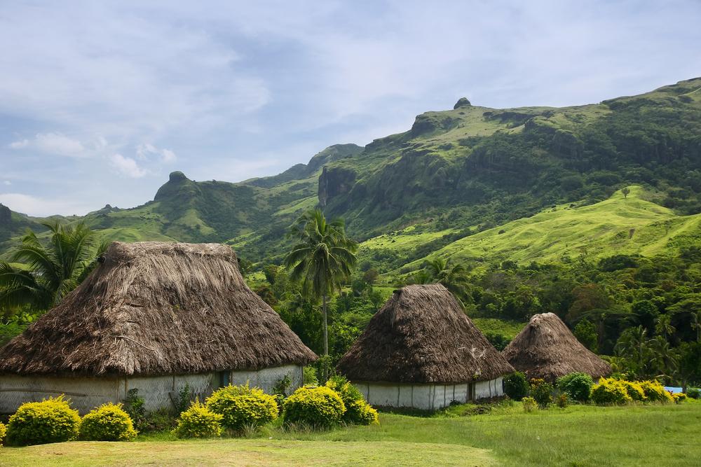 Деревня Навала на Фиджи