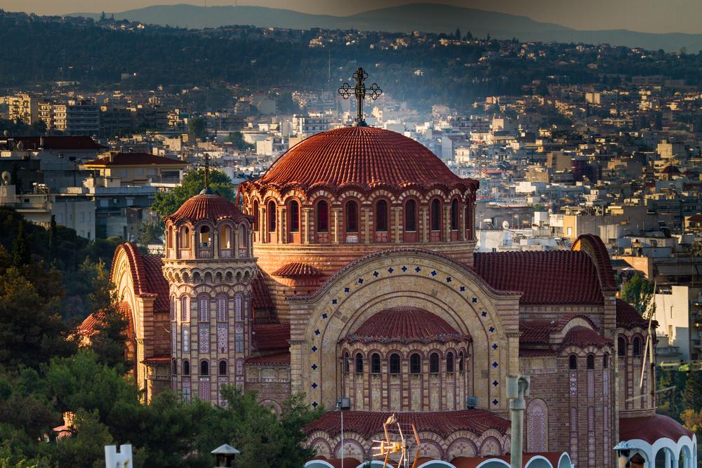 Церковь Агиос Павлос в Салониках