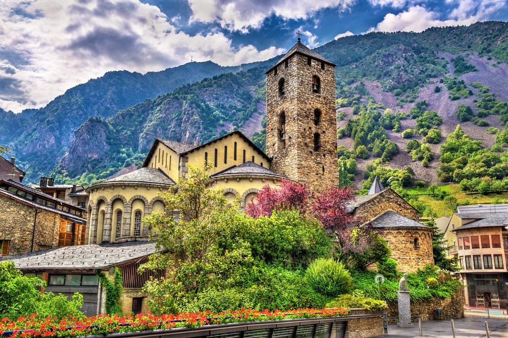 Церковь Сант Эстеве в Андорре