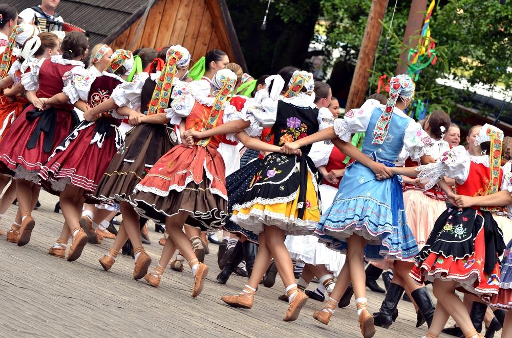 Фольклорный фестиваль в Словакии