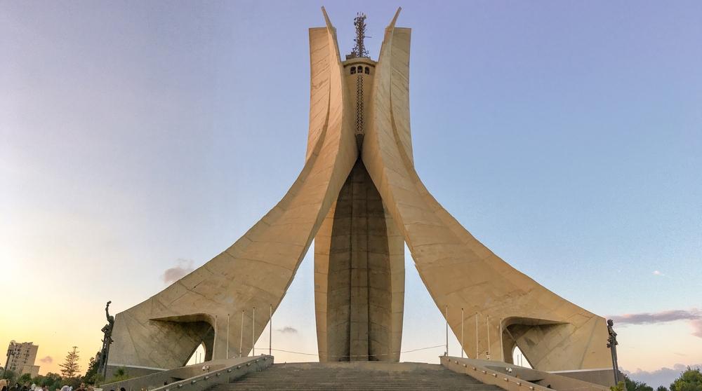 Памятник славы и мученичества в Алжире