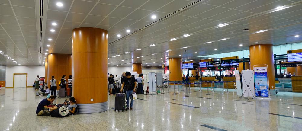 Международный аэропорт Янгон
