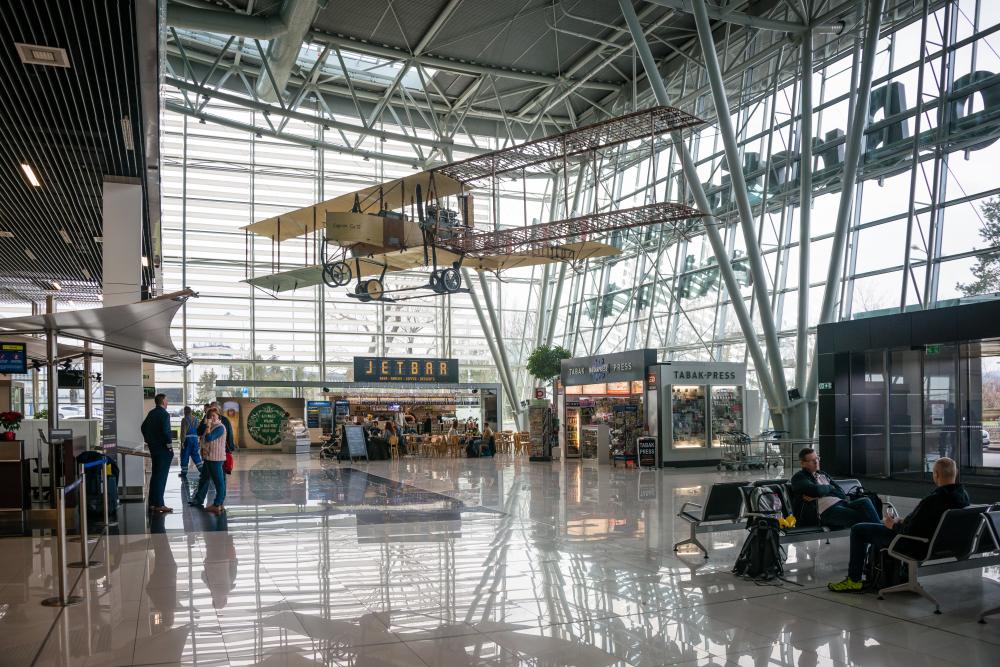 Новый терминал аэропорта Братиславы