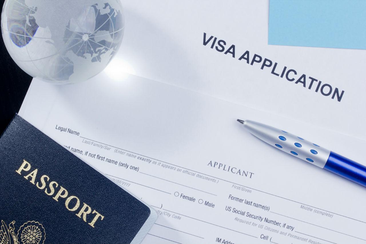 Анкета на визу в Данию