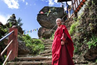Бутанский монах
