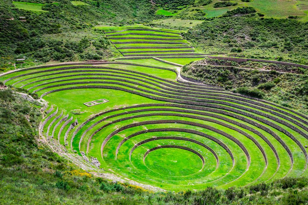 Инкские сельскохозяйственные террасы