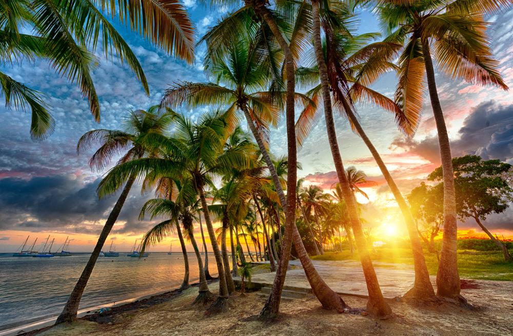 Пляж в Сент-Франсуа