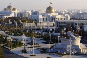 Ашхабад в Туркменистане
