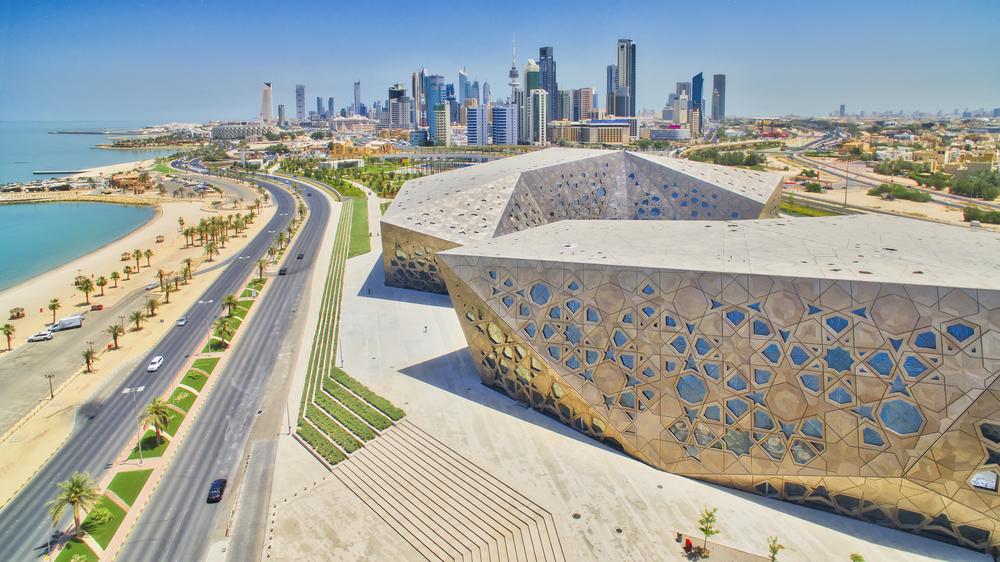 Панорамный вид на Кувейт