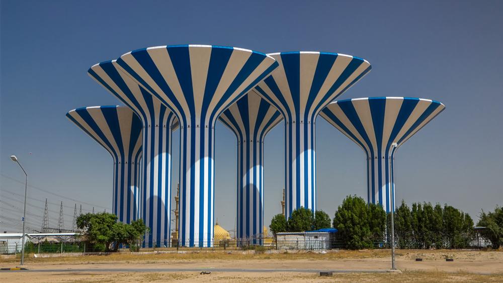 Кувейтские водонапорные башни