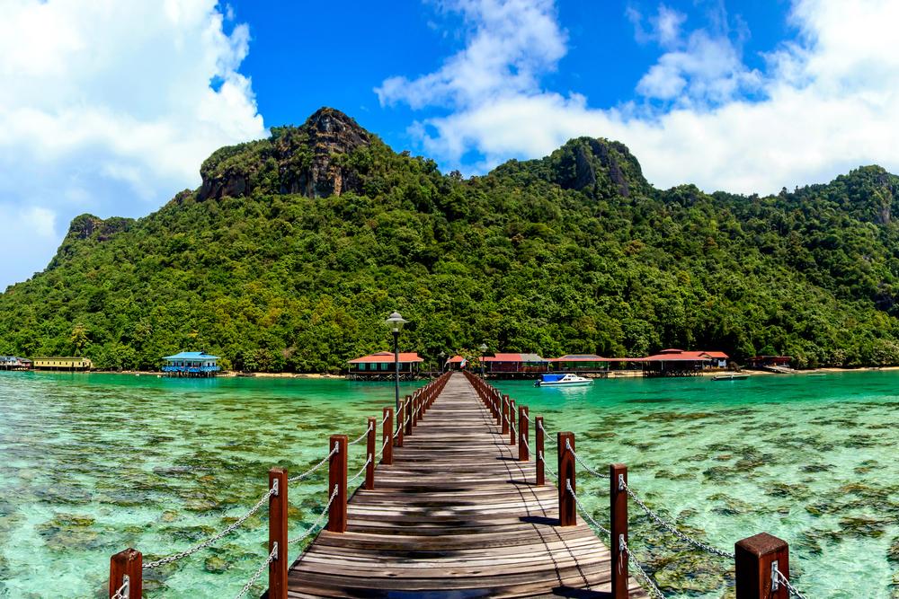 Малайзийский остров