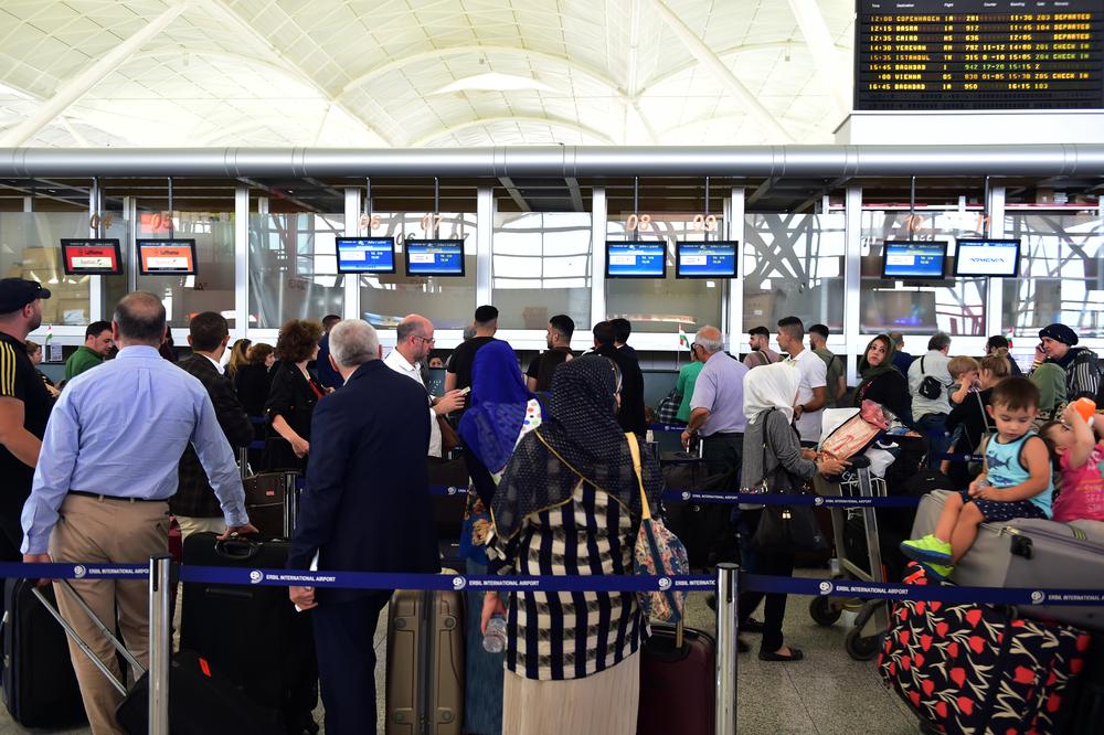 Аэропорт Эрбиля