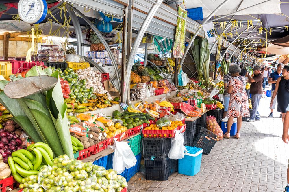 Небольшой рынок в Виллемстаде