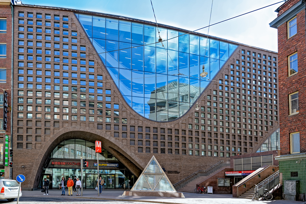 Главная библиотека Хельсинкского университета