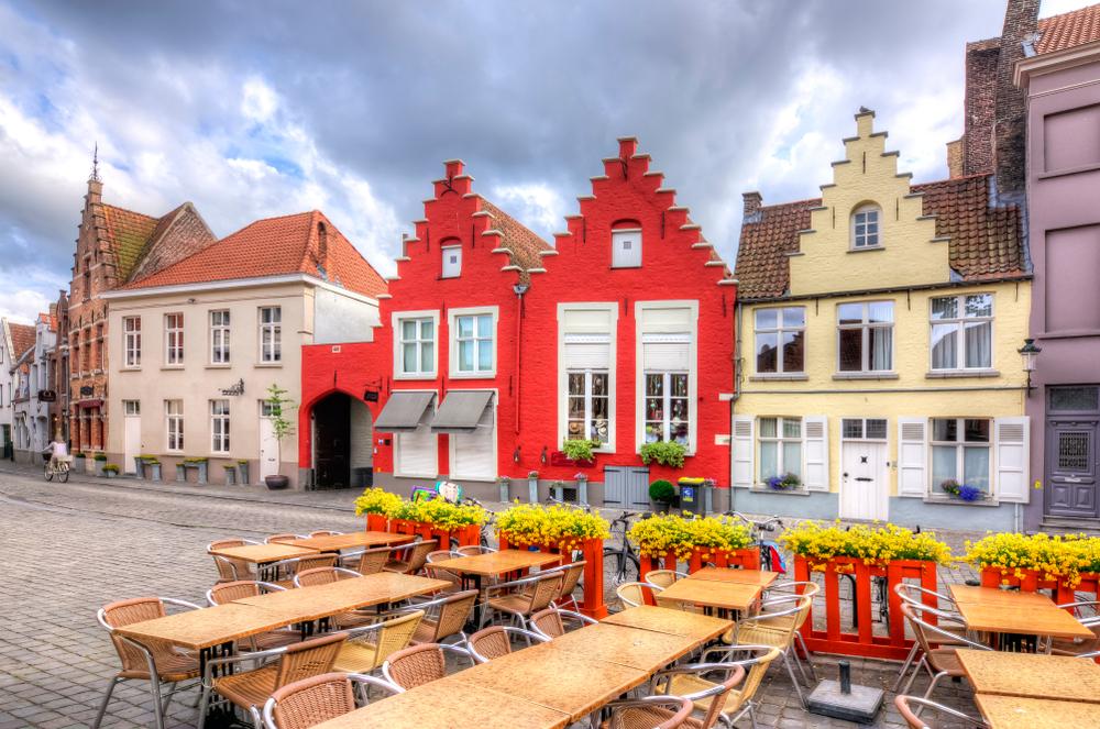Средневековые улицы старого Брюгге