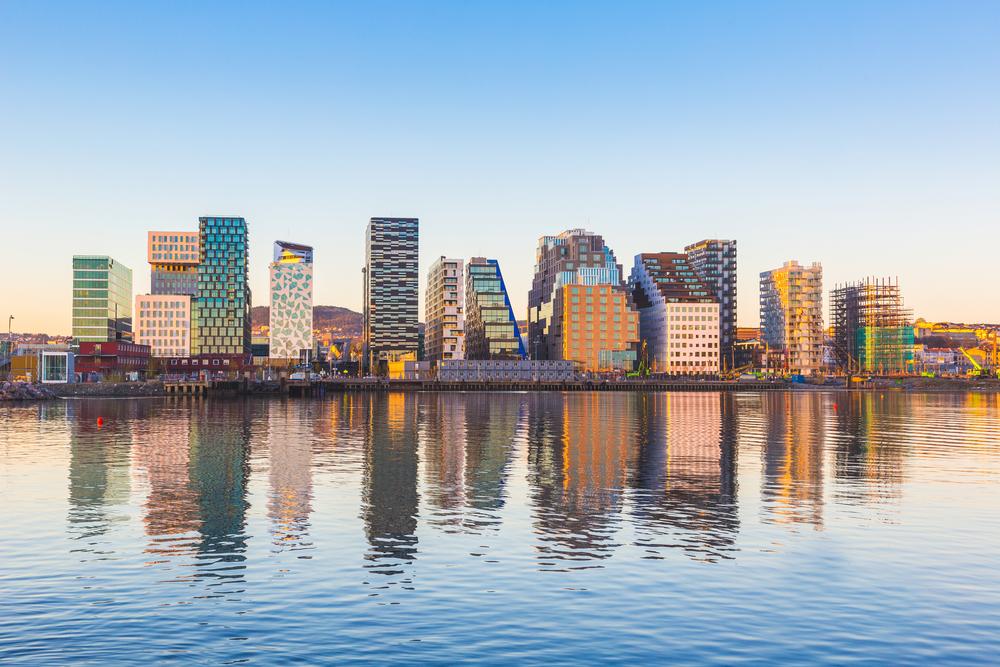 Современные здания в Осло