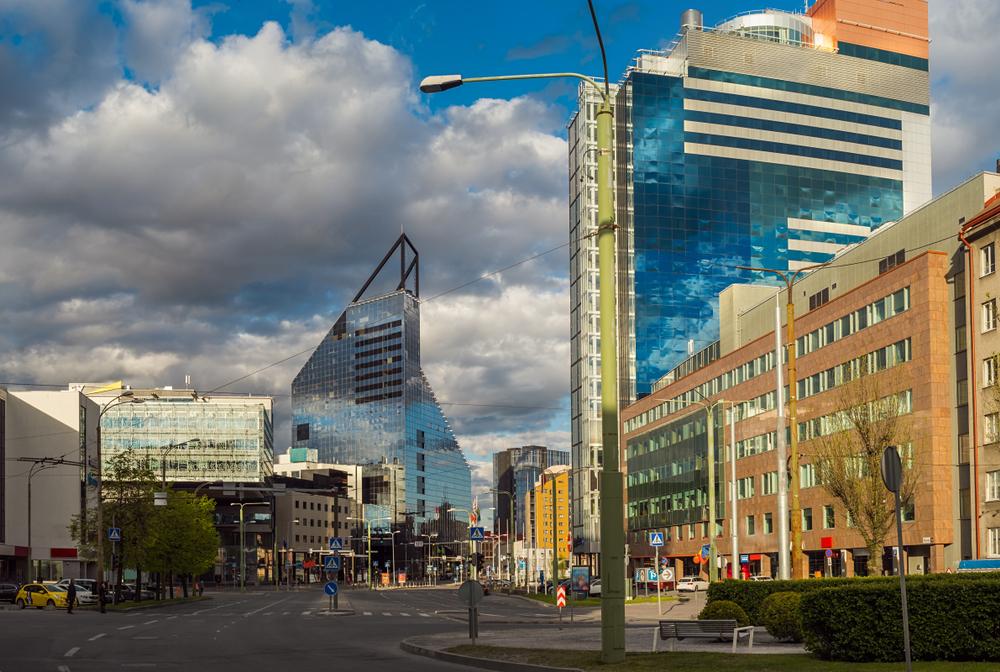 Современные здания Таллина