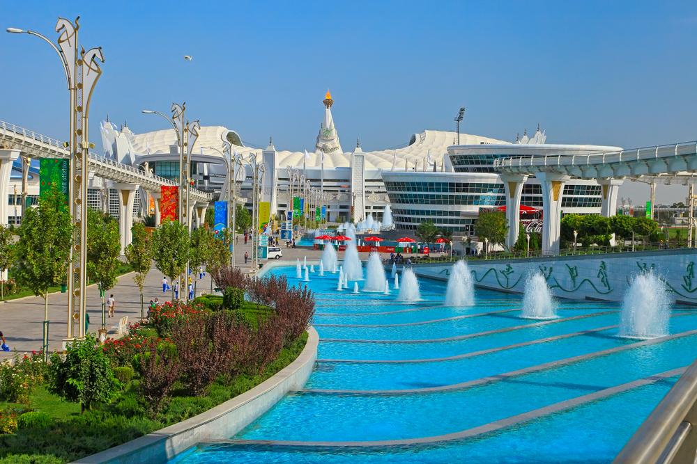 Часть Олимпийского городка в Ашхабаде