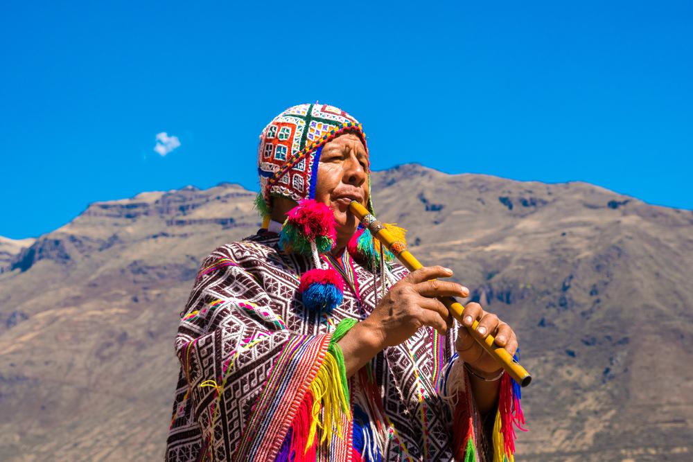 Жительница Куско