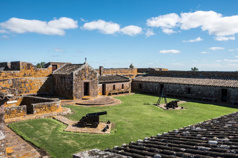 Форт Сан-Мигель в департаменте Роча