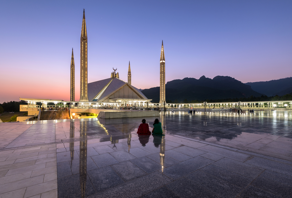 Мечеть Шах Фейсал в Исламабаде