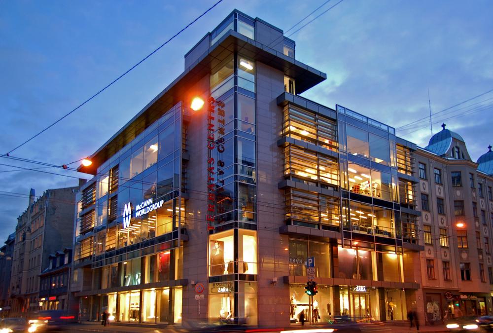 Бизнес-центр Тербатас в Риге