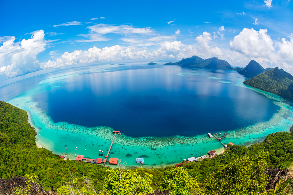 Тропический остров в Малайзии
