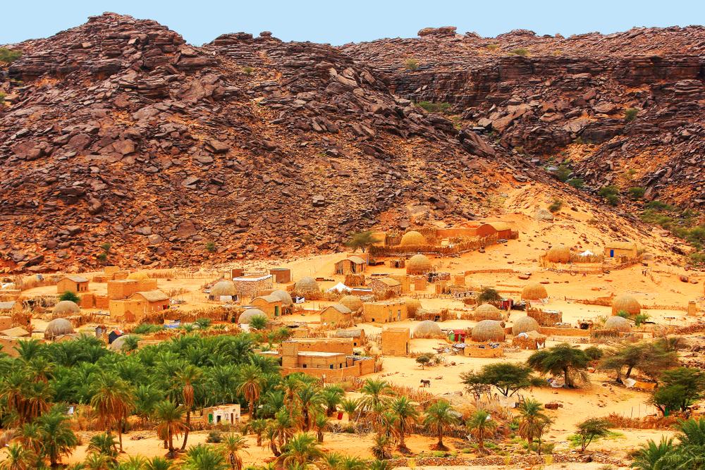 Поселок в Мавритании