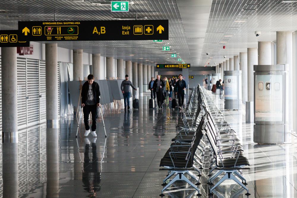 Аэропорт Латвии