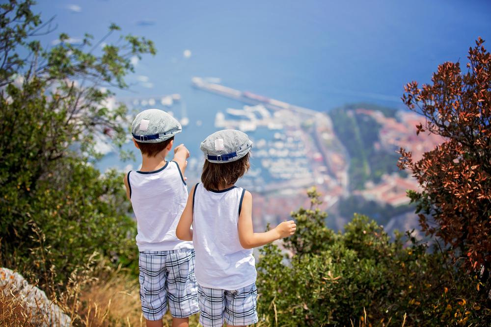 Панорамный вид на порт Монако