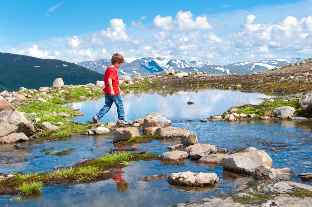 Ребенок в Норвегии