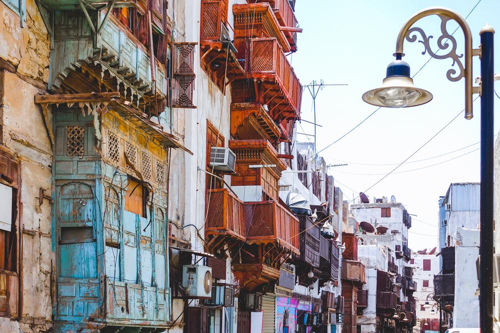Историческая часть города Джидда