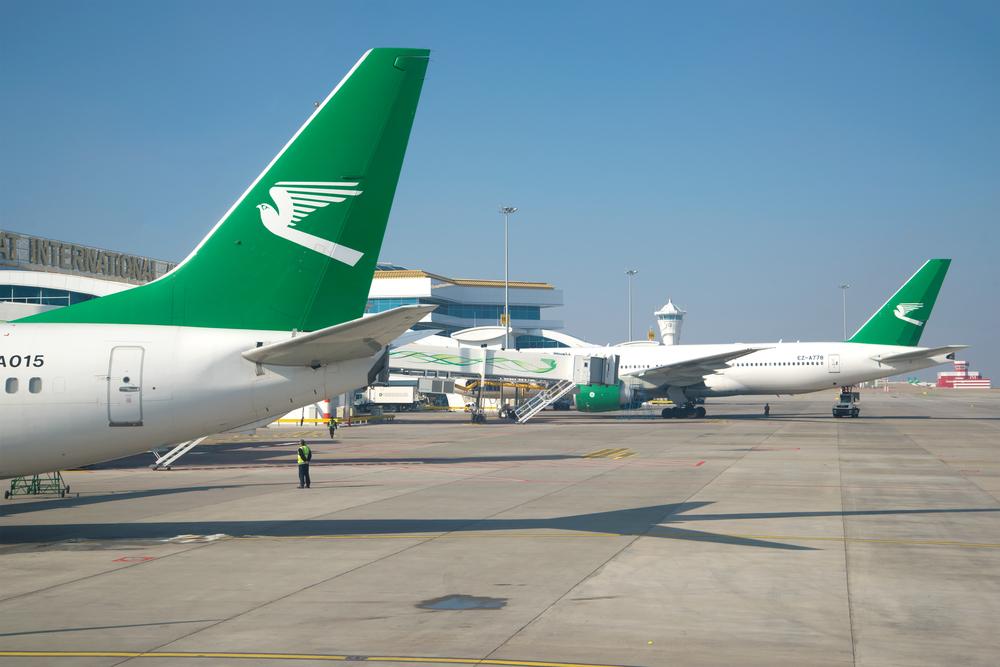Международный аэропорт города Ашхабада