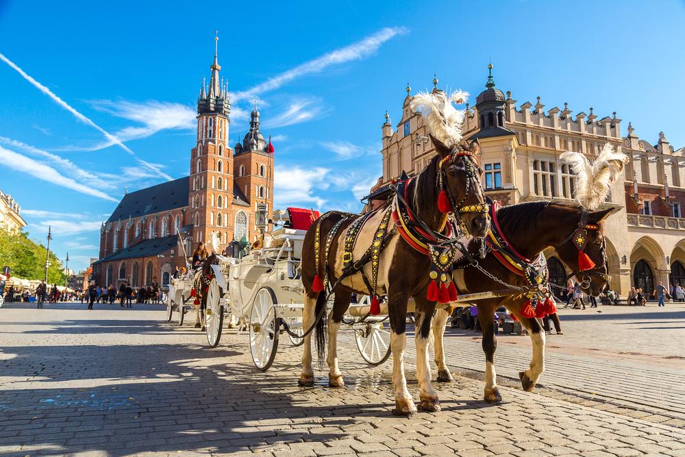 Главная рыночная площадь Кракова