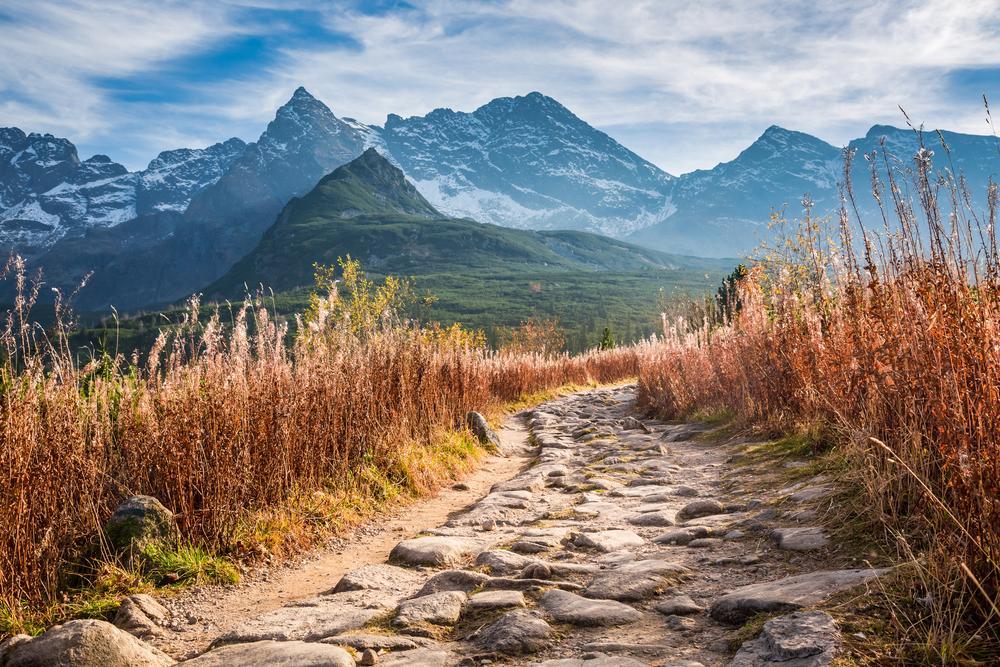 Горная долина в Высоких Татрах