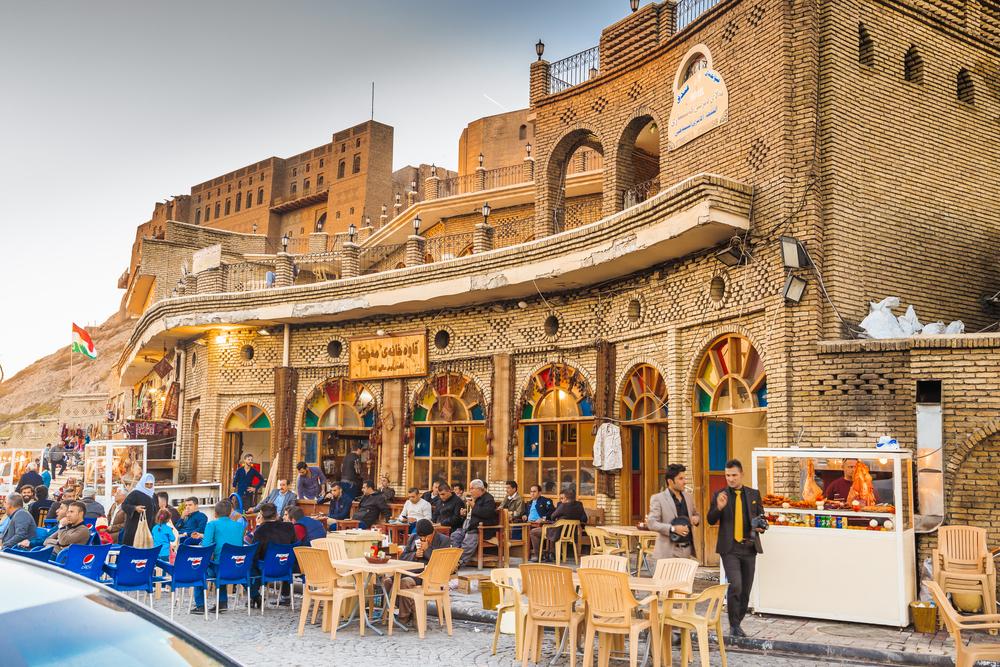 Старая кофейня в Ираке