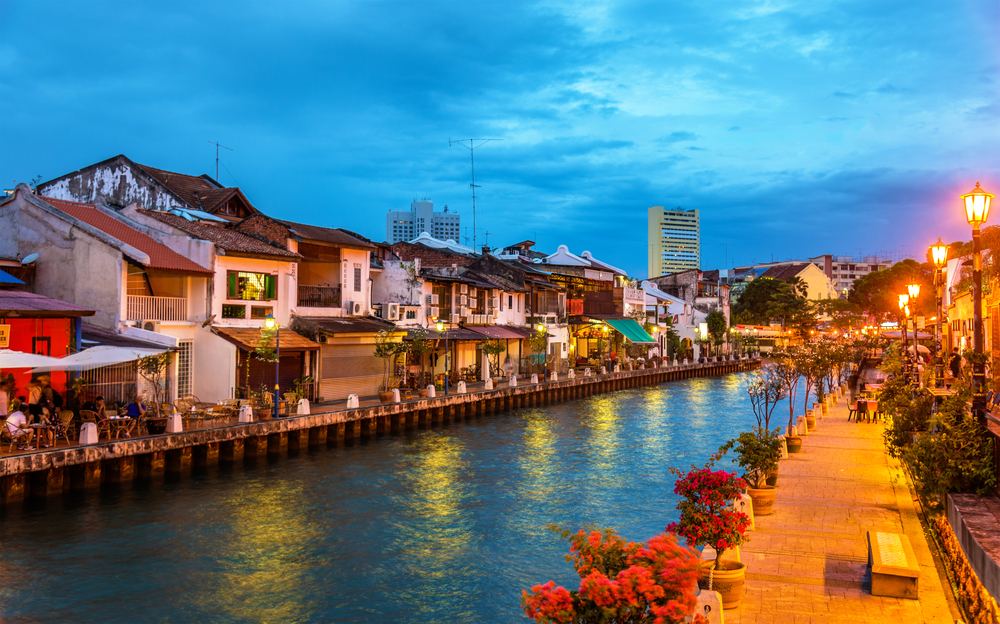 Старый город Малакка в Малайзии